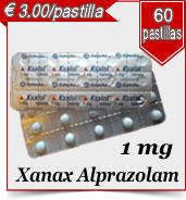 Xanax Alprazolam 1 mg