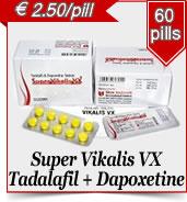 Supar Vikalis Dapoxetine